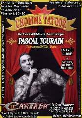 homme tatoué flyer