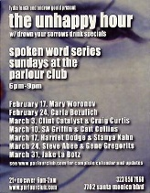 Flyer The Unhappy Hour, 2002